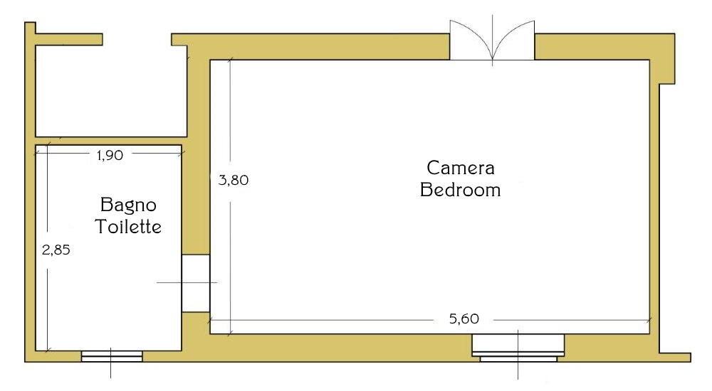 Map double room Gold