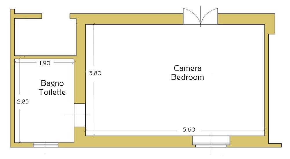 Mappa Camera Gold